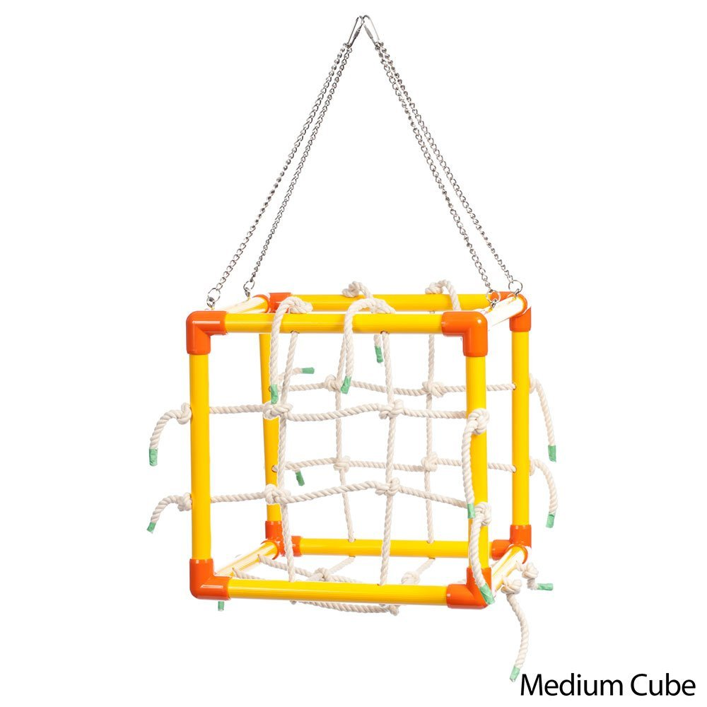 Zoo-Max Cube Bird Toy Hanging Play Gym