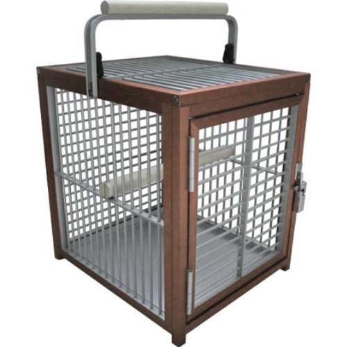 KINGS CAGES - Aluminium Parrot/Bird Travel Cage - Model ATT 1214 :